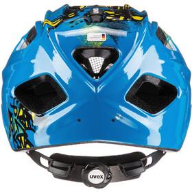 UVEX Quatro Helmet Kinder blue/yellow